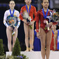Worlds London 2009: MITCHELL Lauren/AUS + HONG Ivana/USA + DENG Linlin/CHN