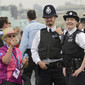 Olympic Games London 2012: police men helping