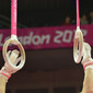 "Olympic Games London 2012: hands with rings and written ""LONDON 2012"""