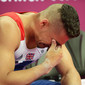 Olympic Games London 2012: SMITH Louis/GBR crying