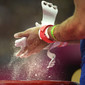 Olympic Games London 2012: detail hands with magnesia