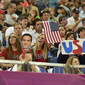 Olympic Games London 2012: fans USA