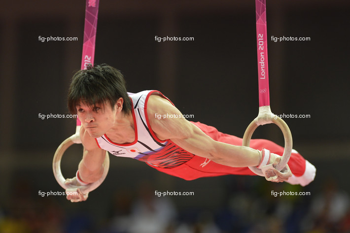 Olympic Games London 2012: UCHIMURA Kohei/JPN