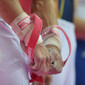 Olympic Games London 2012: hands with ring-grips