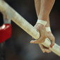 Olympic Games London 2012: hands on parrallel bars