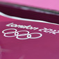 Olympic Games London 2012: logo with Olympic rings