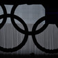 Olympic Games London 2012: shadow of Olympic Rings