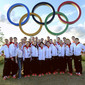 Olympic Games London 2012: team GER for Olympic Rings
