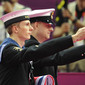 Olympic Games London 2012: military for flagceremony