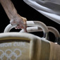 Olympic Games London 2012: preshow at pommel horse