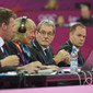 Olympic Games London 2012: judges at floor
