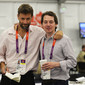 Olympic Games London 2012: journalists workingroom