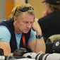Olympic Games London 2012: journalist at presscenter