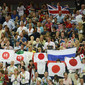 Olympic Games London 2012: fans from JPN