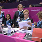 Olympic Games London 2012: Technical comittee with SZYSZKOWSKA Maria