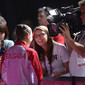Olympic Games London 2012: TV crew working