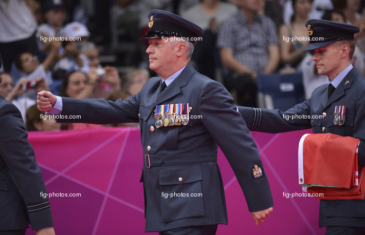 Olympic Games London 2012: soldier for ceremony