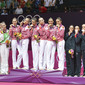 Olympic Games London 2012: podium groups with ITA, BLR , RUS