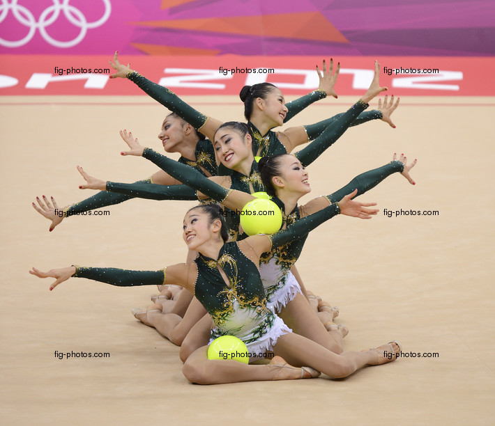 Olympic Games London 2012: group JPN