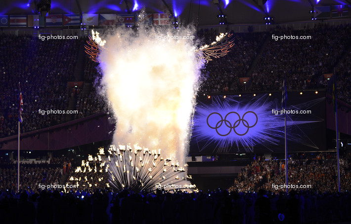 Olympic Games London 2012: closing ceremony