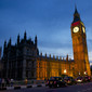 Olympic Games London 2012: palace of Westminster with Big Ben