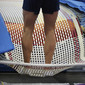 Worlds Trampoline St. Petersburg 2009: double mini, detail feet