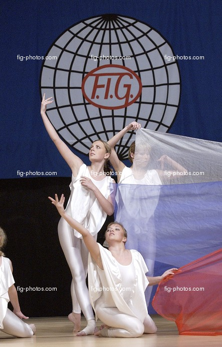 Aerobic-Weltcup-Finale: opening ceremony