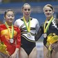ART-Worldcup Final Sao Paulo 2006: podium uneven bars