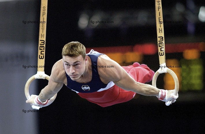 Welt-Cup-Finale: Sean Townsend/USA, Ringe