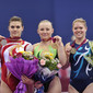 Worlds Trampoline St. Petersburg 2009: Award ceremony tumbling individual women