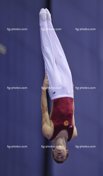 Worlds Trampoline St. Petersburg 2009: USHAKOV Dimitry/RUS