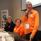 Gym for Life, Cape town/RSA 2013: orientation meeting, JURGENS Donny