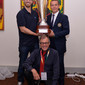 Gym for Life, Cape Town/RSA 2013: FIG staff with trophy