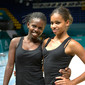 RG WCh Kiev/UKR 2013: right MPANZU Anna + FRANCISCO Nkumba/ANG