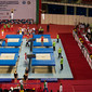 Trampoline WCh Sofia/BUL 2013: warming up, overview