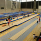 Trampoline WCh Sofia/BUL 2013: trainings hall