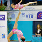 ACRO WCh 2014 Paris/FRA:  JONG Kum Hwa KIM Hye Song/PRK