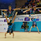 ACRO WCh 2014 Paris/FRA: men's group RUS1