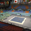 ACRO WCh 2016 Putian/CHN: overview Putian Sports Complex during training