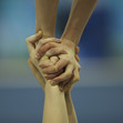 ACRO WCh 2016 Putian/CHN: training, detail hands