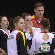 2016 Olympic Games Test Event: team GER emotions
