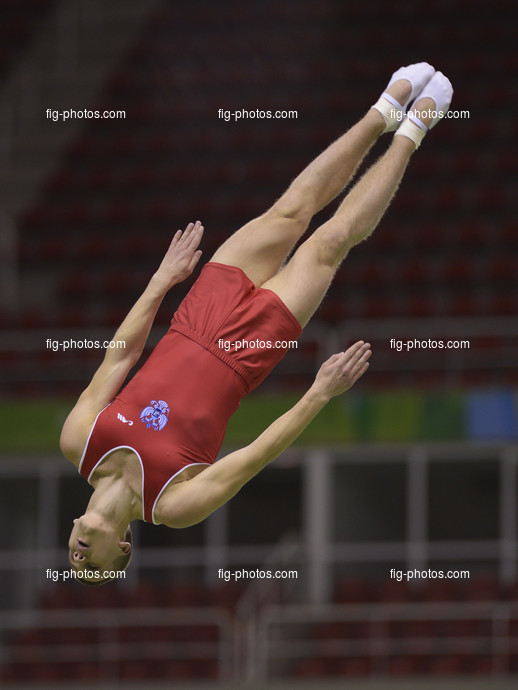 2016 Olympic Games Test Event: YUDIN Andrey/RUS