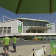 "2016 Olympic Games Test Event: overview ""Rio Olympic Arena"", outside"