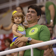 2016 Olympic Games Test Event: fans BRA