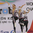 Aerobic WCh 2016 Incheon/KOR: AER dance, HUN