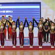 Aerobic WCh 2016 Incheon/KOR: aerobic dance, award ceremony, team KOR