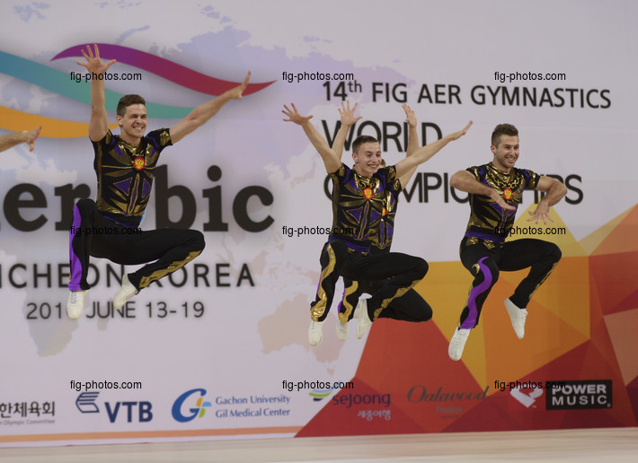 Aerobic WCh 2016 Incheon/KOR: aerobic dance, RUS