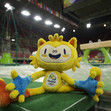 Olympic Games Rio 2016: Olympic mascot VINICIUS at the venue