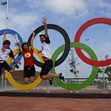 Olympic Games Rio 2016: Olympic rings