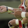 Olympic Games Rio 2016: detail hands and grips